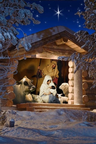 Advent Holy Night - Christmas StereoViewer & SnowGlobe
