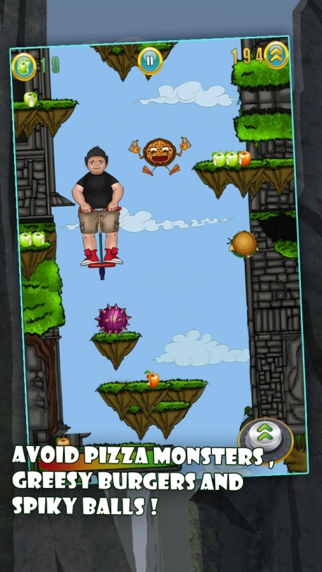 Adventure Chubby Kid Jump - The Best Free Health Awareness Game for Boys and Girls