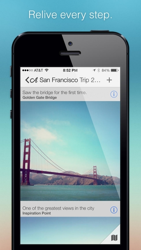 Adventures for iPhone - A Journal and Travelog for Evernote