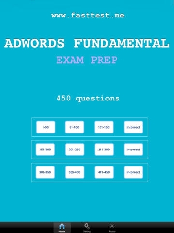 Adwords Fund Exam Prep