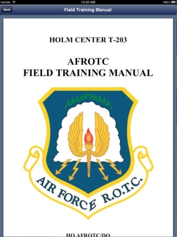AFROTC Warrior Knowledge