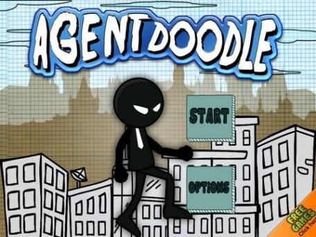 Agent Doodle's 007 Mission Simulation