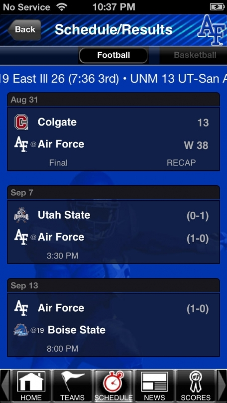 Air Force Falcons College SuperFans