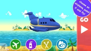 Air Race for Babies: customize your plane and fly!
