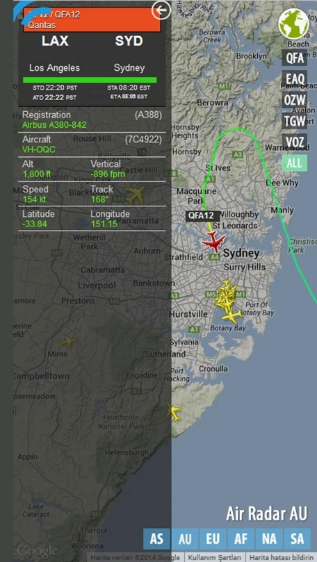 Air Radar AU