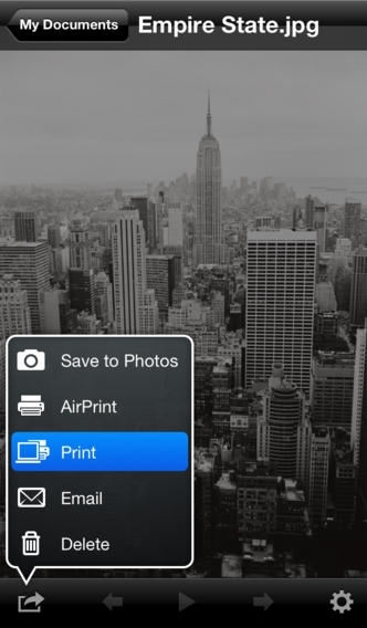 Air Sharing for iPhone & iPod touch
