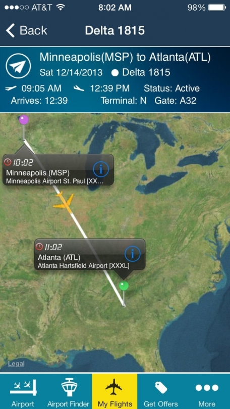 Airport (All) +Live Flight Tracker -all airports and flights in the world