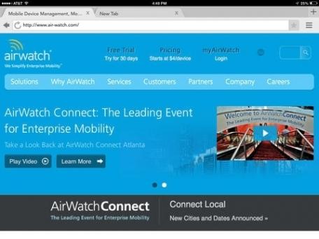 AirWatch Browser