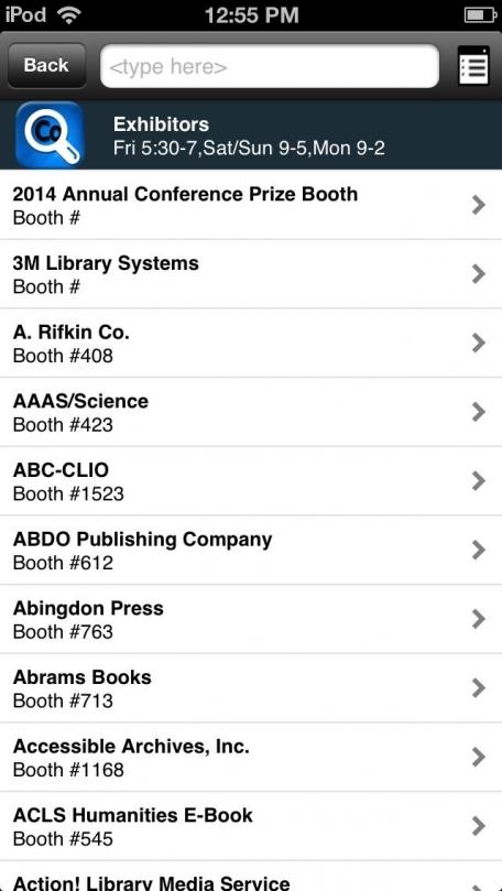 ALA Conferences