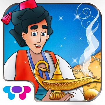 Aladdin and The Magic Lamp - A Free Interactive Children\'s Storybook for Kids & Parents