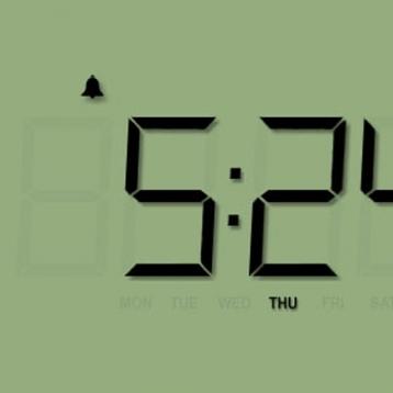 Alarm Clock & Flashlight