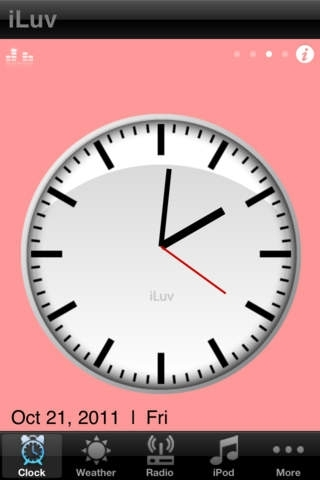 Alarm Clock HD by iLuv