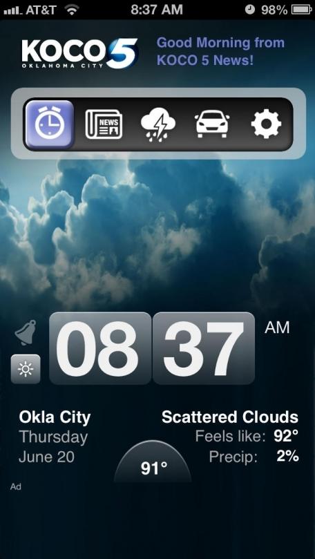 Alarm Clock - KOCO 5 Oklahoma City