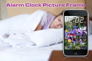 Alarm Clock Picture Frame