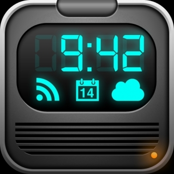 Alarm Clock Rebel - Weather, iPod Music, News, Calendar, World Clocks, Sleep Sound