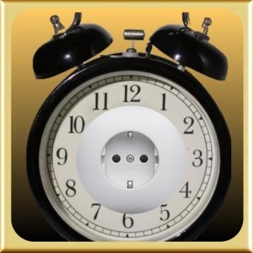 Alarm Clock with Remote Power Control