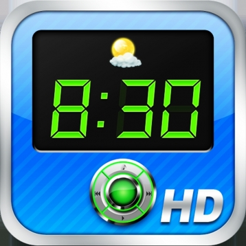 Alarm Clock Xtrm HD Free - Weather + Music Player