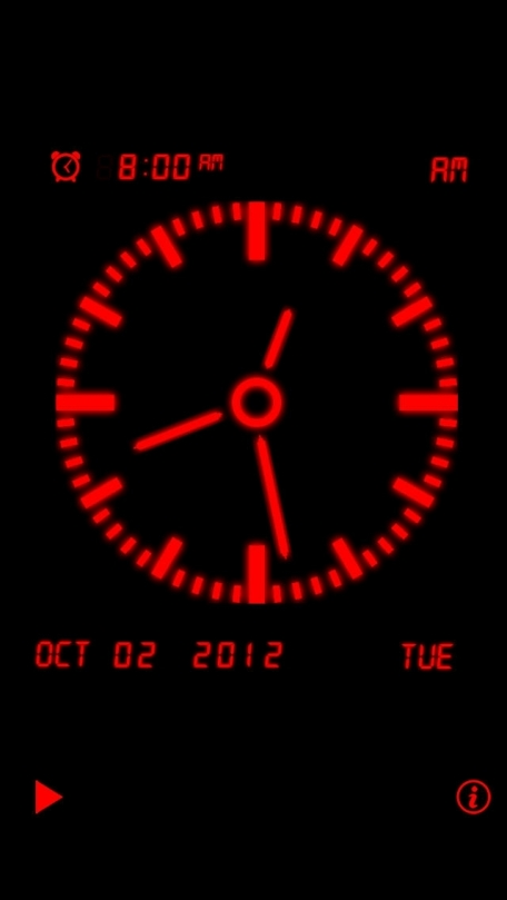 Alarm Night Clock / Music