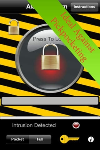 Alarm Security System for iPhone - Pro