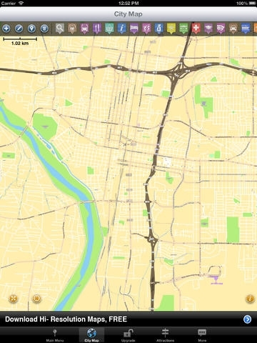 Albuquerque Map and Walks