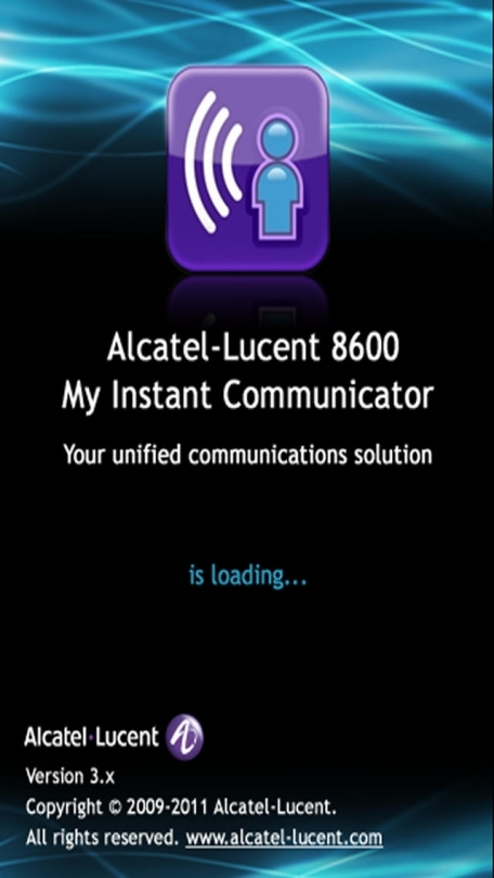 Alcatel-Lucent OmniTouch 8600 My Instant Comunicator 3.2