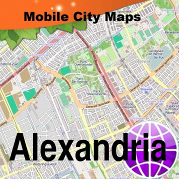Alexandria Egypt Street Map Travel App Review iOS 299 for May