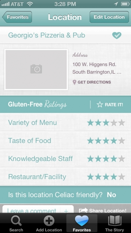Alex's Gluten Free Spots