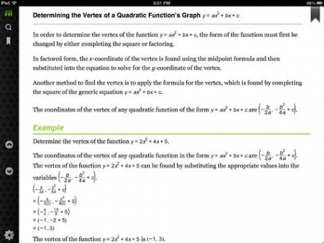 Algebra II Study Guide by Top Student - Help and tutoring for high school.