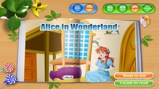 Alice in Wonderland - bedtime fairy tale Interactive Book by iBigToy