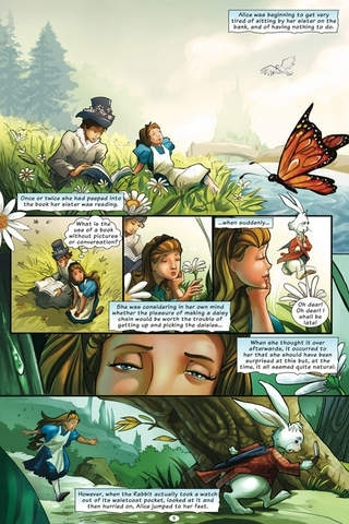 Alice in Wonderland - the Graphic Novel - Preview