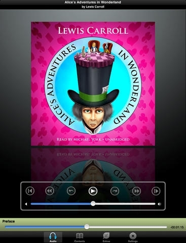 Alice's Adventures in Wonderland (by Lewis Carroll)