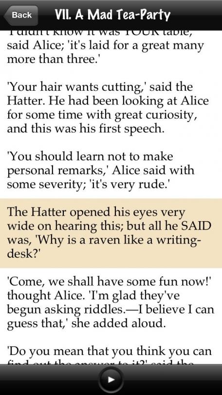 Alice's Adventures in Wonderland Lite