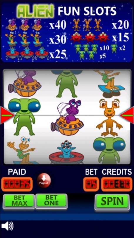 Alien Fun Slots: Play Vegas Casino Style Slots