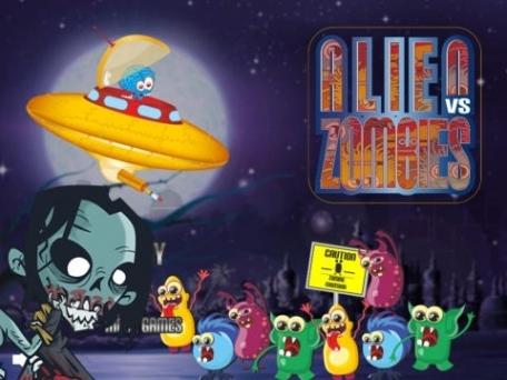 Alien vs Zombies - Fire Your Laser to Survive