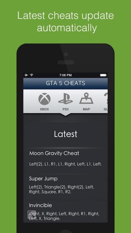 All Cheats For GTA 5