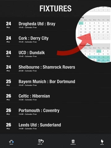 All Soccer Fixtures