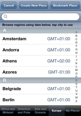 AllHours Time Zone Meeting Planner App