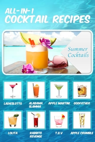 All-in-1 Cocktail Recipes Catalog