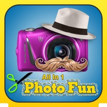 Allin1 PhotoFun Picturegram: Chop, Clone, Fuse Arty Image Blender
