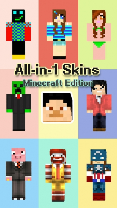All-in-1 Skins Minecraft Edition