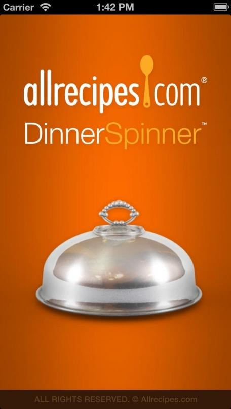 Allrecipes.com Dinner Spinner Pro