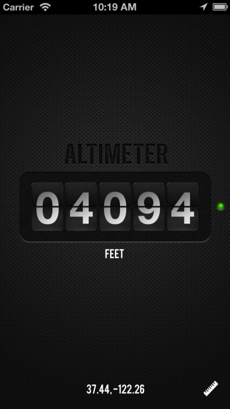 Altimeter - Simple Elevation and Altitude