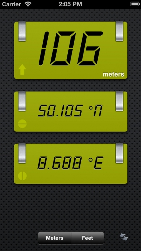 Altimeter - Turn your phone into a GPS Altimeter