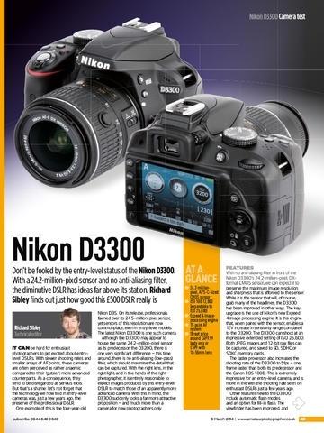 Amateur Photographer Magazine International