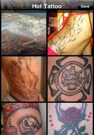 Amateur Tattoo on Skin