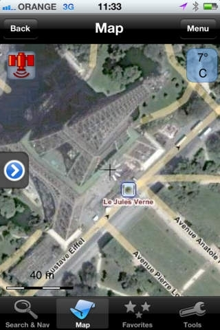 amAze GPS – Navigation Dans le monde