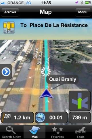 amAze GPS - Worldwide Navigation