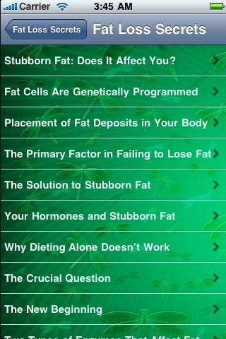 Amazing Fat-Loss Secrets