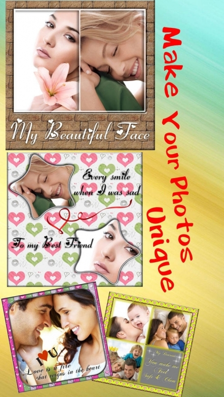 Amazing Flower Photo Frames