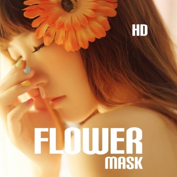 Amazing Flowers Mask